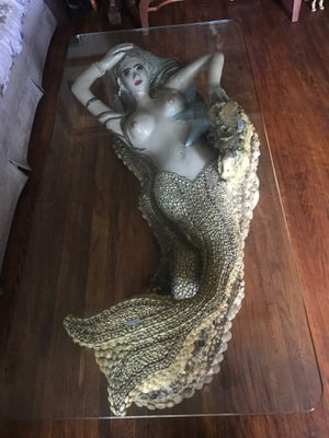 Antique mermaid coffee table for Sale in Long Beach, CA