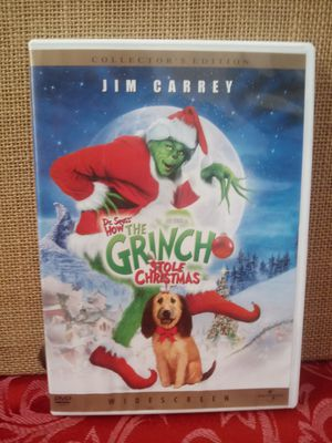 $2.50 Dr. Seuss How the Grinch Stole Christmas DVD for Sale in Hemet, CA