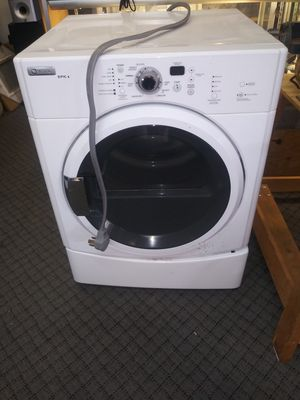 Maytag epic z stackable washer and dryer set. for Sale in Denver, CO