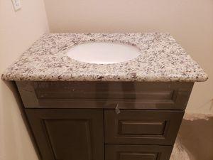 "Bathroom vanity cabinet granite countertop undermount sink 36"" for Sale in La Center, WA"