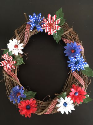 Patriotic Wreath for Sale in Buckhannon, WV