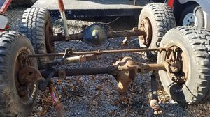 GM, Matching Set, 3/4 Ton, 8 Lug, Front (Dana 44) and Rear (GM 14 Bolt 10.5) Axles for 1973 thru 1987 Square Body Chevy or GMC Pickup, 4.10 Gear Ratio for Sale in Frederick, MD