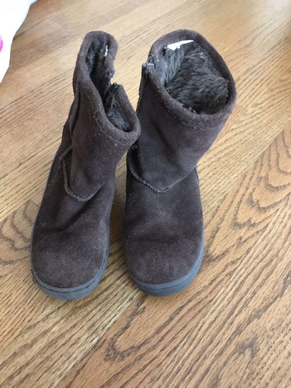 Little girls boots size 10