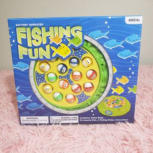 Fishing fun battery operated game for Sale in Austin, TX