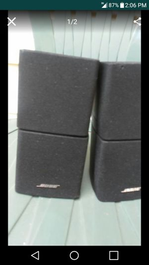2 Bose Cube Speakers for Sale in Nashville, TN