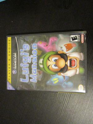 Luigi's Mansion Nintendo GameCube for Sale in Palm Springs, FL