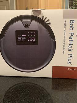 Bobsweep Bob PetHair Plus Robot Vacuum And Mop-Charcoal for Sale in Ontario,  CA