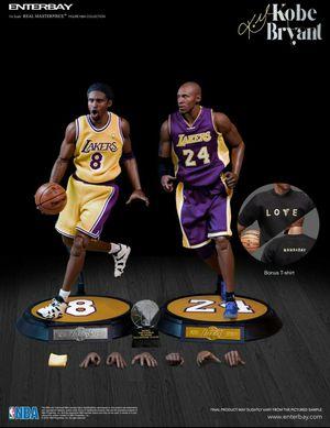 Enterbay Kobe Bryant 2 pack for Sale in Fullerton, CA