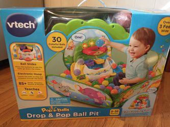 Kids Drop & Pop ball pit Interactive Toy for Sale in Peoria,  IL