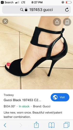 Authentic Gucci heels size 9.5 for Sale in Tolleson, AZ