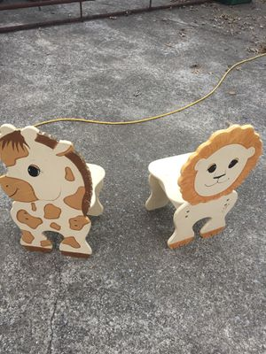 Animal Kid chairs for Sale in Gallatin, TN