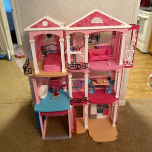 Barbie Dream House (Amazon Exclusive Edition) for Sale in Brooksville, FL