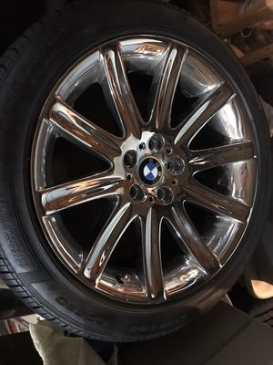 "Pirelli 19"" Factory OEM BMW Chrome Rims - Four for Sale in Bristow, VA"