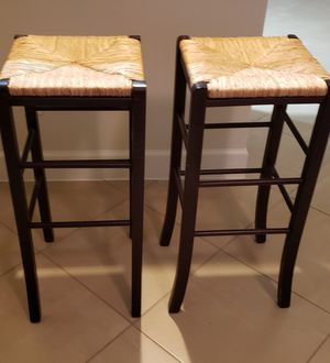 """Two """" like new """" bar stools . for Sale in Tomball, TX"""