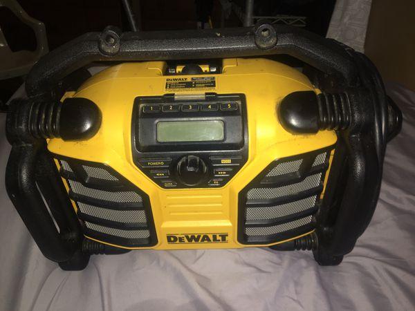 Dewalt Dcr015 radio speaker with aux cord