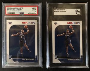 Zion Williamson Rookie cards (PSA 9 & SGC 9) for Sale in Hudsonville, MI