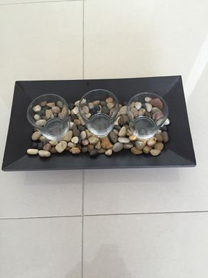 Decoration piece candle holders for Sale in Miami, FL