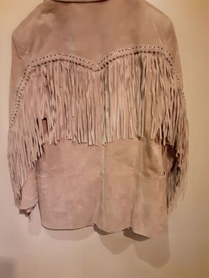 Suede Fringe Jacket for Sale in Worth, IL