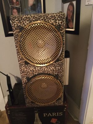 """12"""" subs and amp box for Sale in Tampa, FL"""
