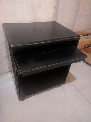 Computer desk on wheels for Sale in Swatara, PA