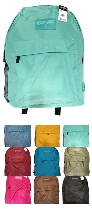 Brand NEW! Variety of Colors Regular Size Backpack For School/Traveling/Everyday Use/Work/Gym/Jogging/Summer Bag $8 for Sale in Torrance, CA