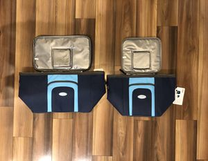 Arizona Blue Arctic Pak (2) Lg/Med Coolers for Sale in Austin, TX