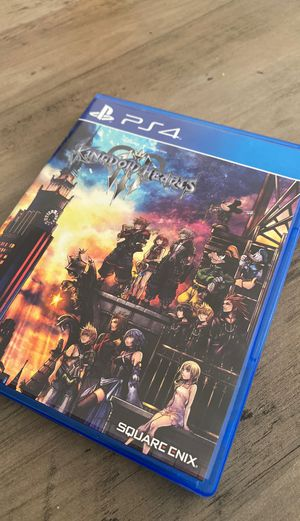 Kingdom Hearts 3 PS4 for Sale in Sanford, FL