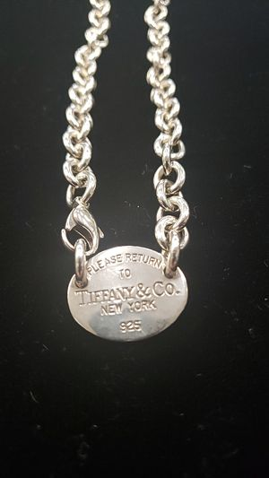 Tiffany & Co. Silver necklace for Sale in Frisco, TX