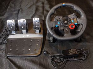 Logitech G29 racing wheel (PC or PlayStation) for Sale in Mooresville, NC