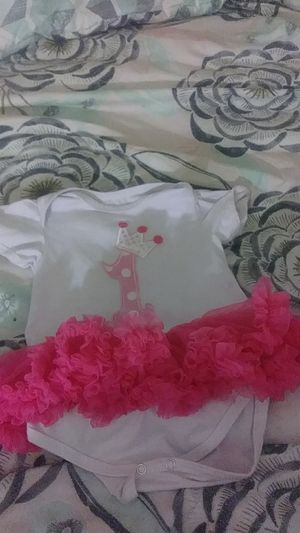 Baby girls first birthday outfit for Sale in Washington, DC