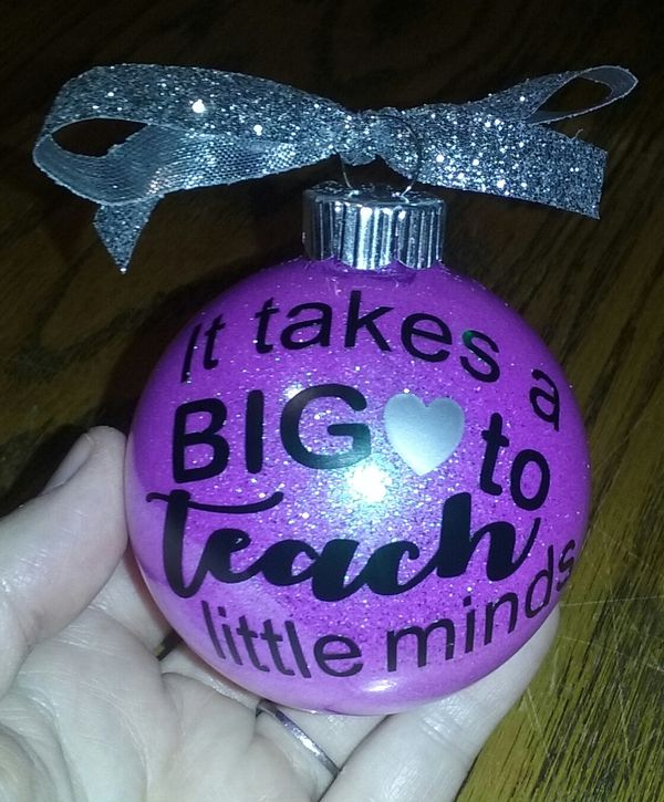 Teacher ornaments