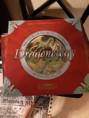 Vintage 2006 Dragonology The Board Game for Sale in Kansas City, MO