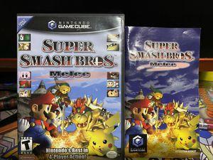 Super Smash Bro's Melee CIB GameCube Nintendo Video Game for Sale in Los Angeles, CA