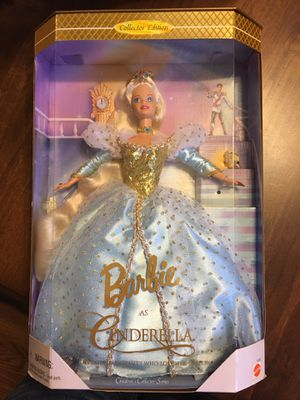 Brand new in box 1996 Barbie as Cinderella for Sale in Washington, DC