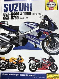 SUZUKI GSXR Haynes Manual & Eng Performance Manual for Sale in Damascus,  OR