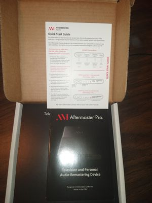 Aftermaster pro Tv audio enhancer new $90 for Sale in Fresno, CA