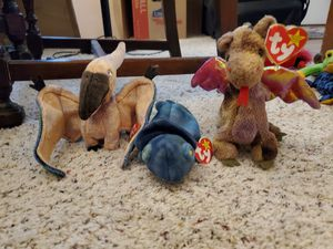 Dino/Dragon Beanie Baby lot for Sale in Fenton, MO