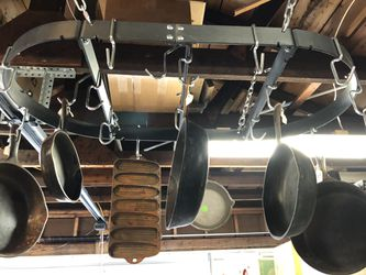 "18""x36""calphalon hanging pot holder for Sale in Johnstown,  OH"