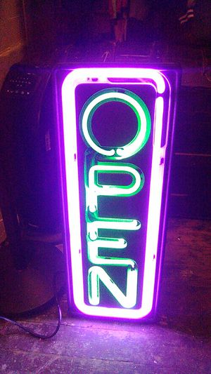 Fallon electric open sign for Sale in Indianapolis, IN