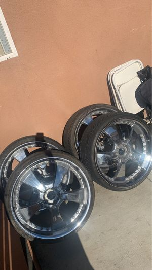24inch rims for Sale in Los Angeles, CA
