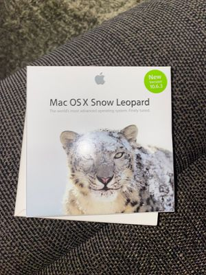 Mac OS X snow leopard for Sale in Palmdale, CA