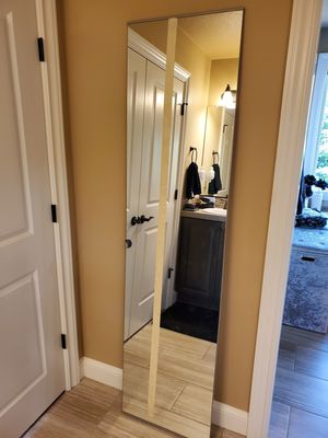 Ikea mirrored door and shoe racks for Sale in Oregon City, OR