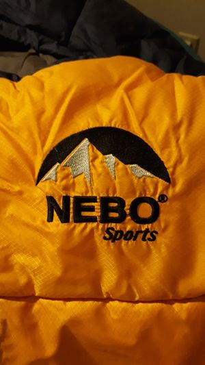 NEBO SPORTS ZERO DEGREE SLEEPING BAG. USED ONCE for Sale in Fort Worth, TX