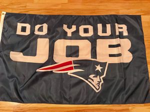 NFL New England Patriots Do Your Job Flag for Sale in Chesapeake, VA