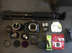 Canon T6 DSLR Camera Bundle for Sale in Miami, FL