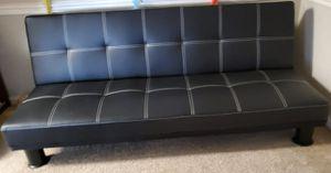 Almost new Leather Futon/bed for Sale in Alpharetta, GA