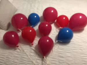 10 Hard plastic Balloons reg price 9.99 each will sell for 18.00 for all for Sale in Milton, FL