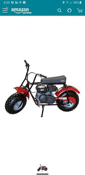 Coleman CT200U-A 196cc/ 6.5 hp mini bike for Sale in Mentor, OH