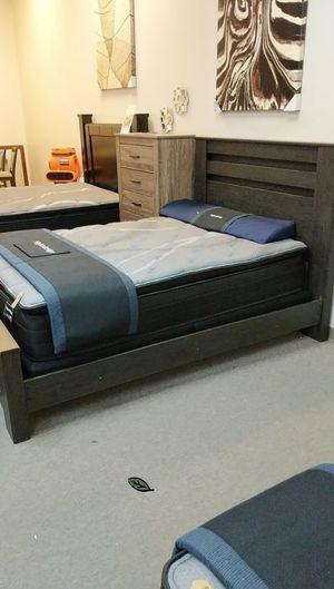 $39 Down Payment 《 Best OFFER》Brinxton Black Panel Bedroom Set | B249 999 for Sale in Jessup, MD