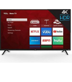 Tcl Roku smart tv 4k 2160p 240hz for Sale in Jacksonville, FL